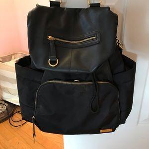 Skip hop diaper bag backpack - barely used.